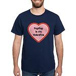 PapPap is My Valentine Dark T-Shirt