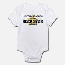 History Teacher Rock Star Infant Bodysuit