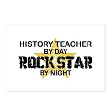 History Teacher Rock Star Postcards (Package of 8)