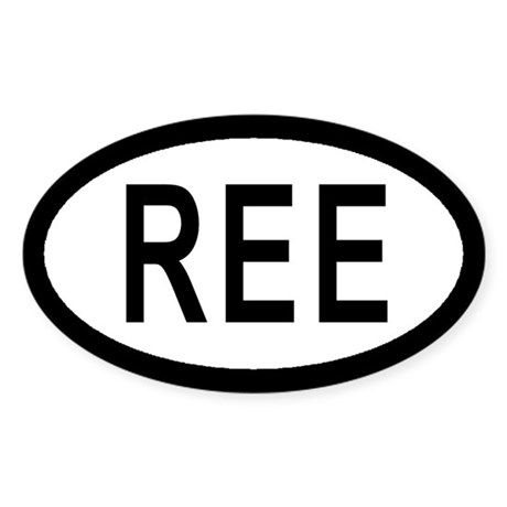 Reese Air Force Base Euro Style Sticker