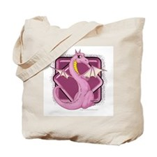 Pinkie the Dragon Tote Bag