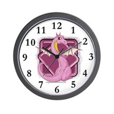 Pinkie the Dragon Wall Clock