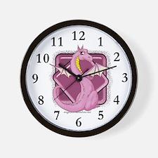 Pinkie the Dragon Wall Clock