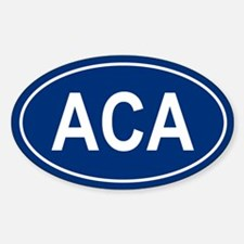 ACA Oval Decal