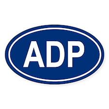 ADP Oval Bumper Stickers