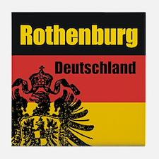 Rothenburg Deutschland  Tile Coaster