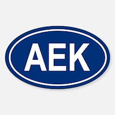 AEK Oval Decal