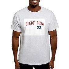 Deeds' Pizza Ash Grey T-Shirt
