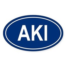 AKI Oval Decal