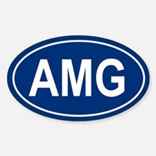 AMG Oval Decal