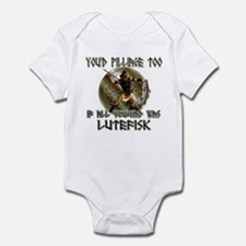 Lutefisk viking humor Infant Bodysuit