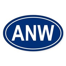 ANW Oval Decal