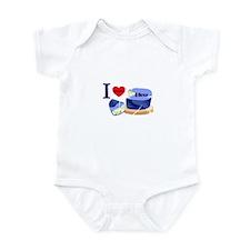 Bleu Cheese Infant Bodysuit