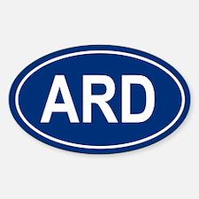 ARD Oval Decal