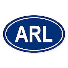 ARL Oval Bumper Stickers