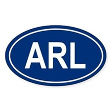 ARL Oval Decal