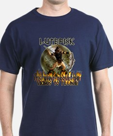 Anti Lutefisk humor T-Shirt