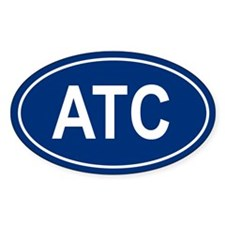 ATC Oval Decal