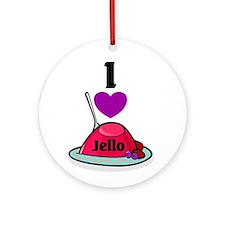 Jello Ornament (Round)
