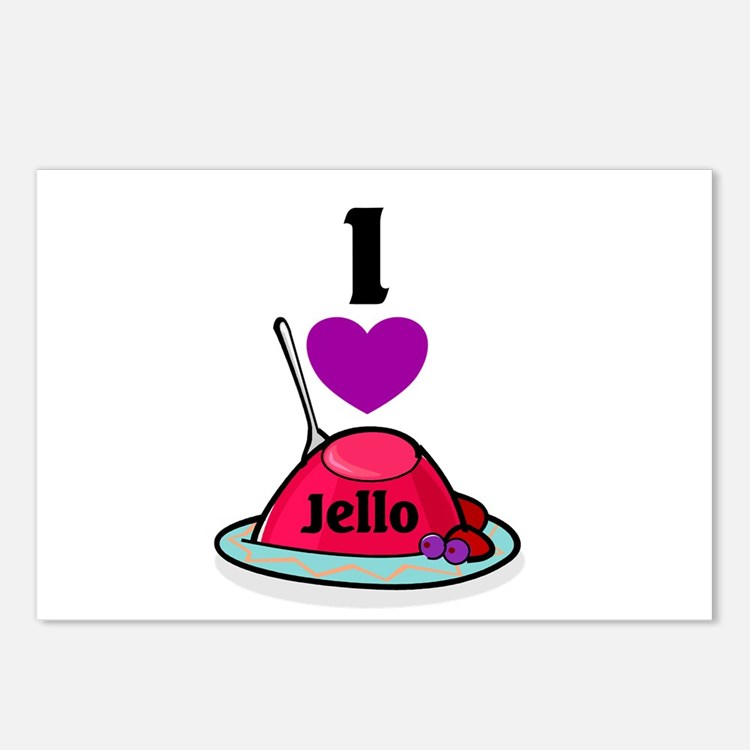 Jello Postcards (Package of 8)