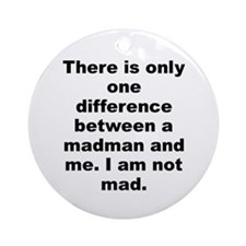 Cool Salvador dali quotation Ornament (Round)