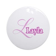 Layla Ornament (Round)