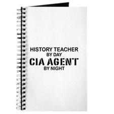 History Teacher CIA Agent Journal