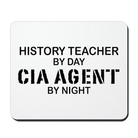 History Teacher CIA Agent Mousepad