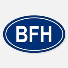 BFH Oval Decal