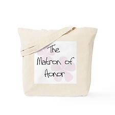Matron of Honor Pink Tote Bag