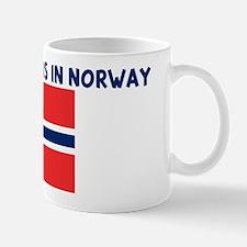 HALF MY HEART IS IN NORWAY Mug