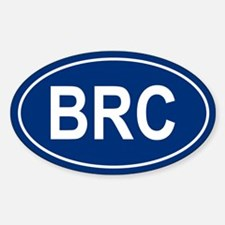 BRC Oval Decal