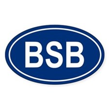 BSB Oval Decal