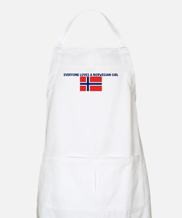 EVERYONE LOVES A NORWEGIAN GI BBQ Apron