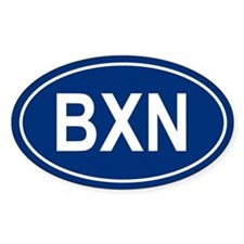 BXN Oval Decal