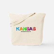 Colorful Kansas Tote Bag