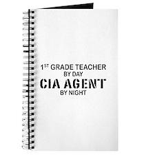 1st Grade Teacher CIA Agent Journal