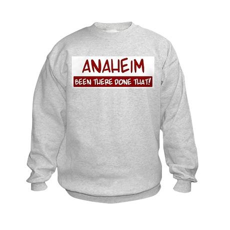 Anaheim (been there) Kids Sweatshirt