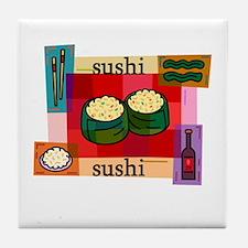 Sushi Gifts Tile Coaster