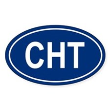 CHT Oval Decal