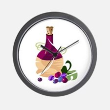 Jug of Wine Wall Clock