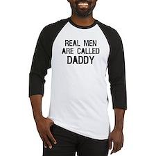 Called Daddy Baseball Jersey