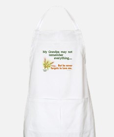 Never Forgets To Love 2 (Grandpa) BBQ Apron