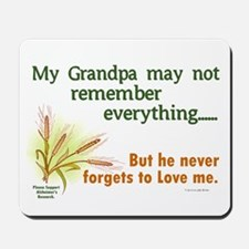 Never Forgets To Love 2 (Grandpa) Mousepad