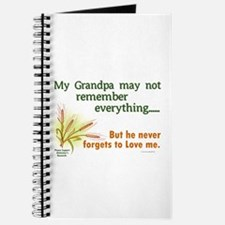 Never Forgets To Love 2 (Grandpa) Journal