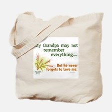 Never Forgets To Love 2 (Grandpa) Tote Bag