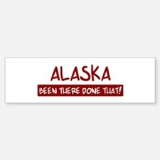 Alaska (been there) Bumper Car Car Sticker