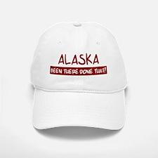 Alaska (been there) Baseball Baseball Cap