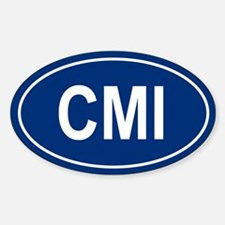 CMI Oval Decal