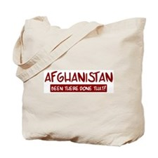 Afghanistan (been there) Tote Bag